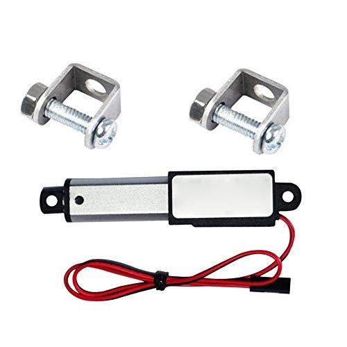 Actuador eléctrico lineal 12V Fuerza 30N velocidad de 30 mm Longitud 30 mm Actuador lineal eléctrico de la elevación del motor Soporte de servicio de motor de Maquinaria Automatizada
