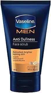 Vaseline Men Anti Dullness Scrub Face Wash 100g.
