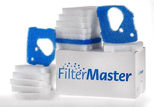 Filtermaster Aquarium-Wasserfilter BigPack Set 9 | Filter für EHEIM Professionel 4+ und 4e+ | Filtermatte & Filtervlies