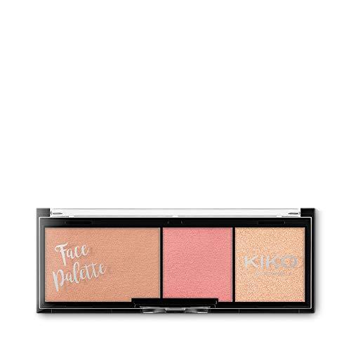 Kiko Milano Face Palette Nr. 01 Elegant Charme Inhalt: 8,5g Puderrouge für das Gesicht