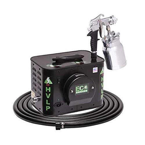Apollo Sprayers HVLP ECO-3 3-Stage Turbine Paint Spray System, E5011 Spray Gun & 20' Hose