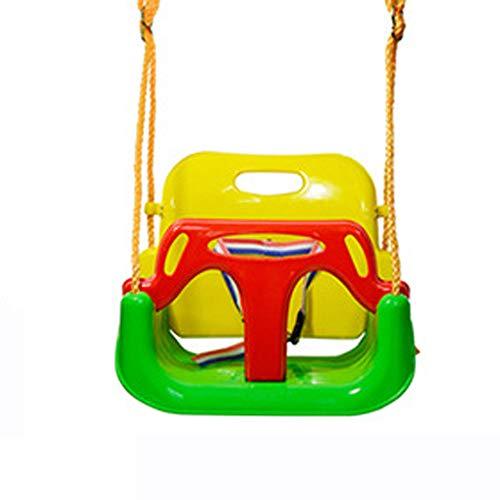 Buy Discount JIAWEQQ Children's Swing, Baby Swing seat Accessories, Indoor Swing Swing Chair - Adjus...