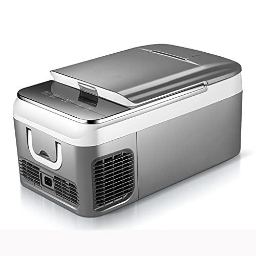 GETZ Nevera y Congelador de Compresor Portátil 18L / 36L Frigoríficos Mini Nevera Portátil Eléctrica con Compresor para Conducir, Viajes, Picnic Al Aire Libre, -20 ° C-10 ° C