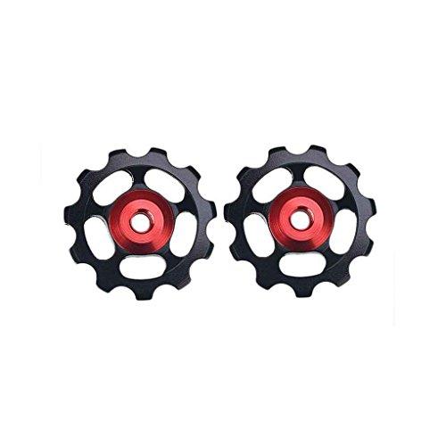 Morza 1pc 11T de la Bici del cojinete de cerámica Jockey polea Camino para Bicicleta Cambio Trasero