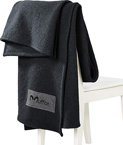Mufflon W300 Plaid I Anthracite 200 x 140 cm