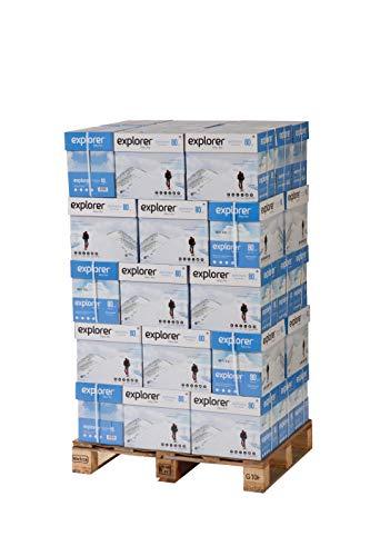 EXPLORER – Papel blanco multiusos para impresora – A4 80gr – 300 paquetes
