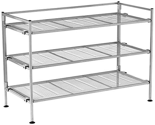 Seville Classics Sturdy Freestanding Storage Shelf for Bedroom, Closet,...