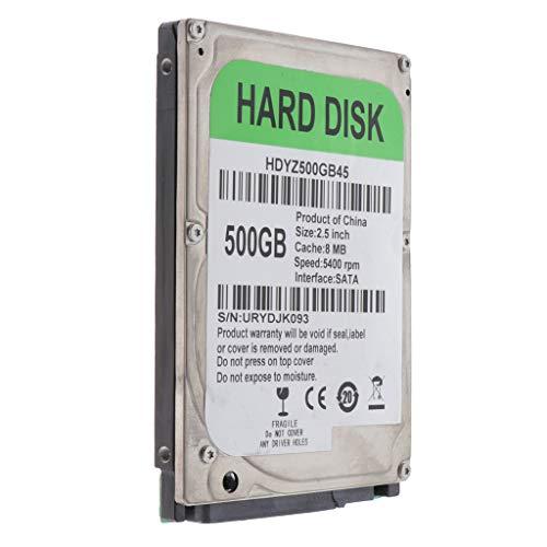Gazechimp 2.5 '' Hard Disk Meccanico SATA 8M HDD, più Facile da Installare e Risparmiare Spazio - 500GB