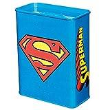Unbekannt Sonido y Vestido 6820474091–Hucha con diseño de Superman, Metal, Azul, 9.0x 4.5x 11.5cm