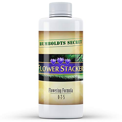 Humboldts Secret Flower Stacker – Flowering Plant Food – Nutrient System for Potting Soil for Indoor Plants & Outdoor Plants - 8 Ounce