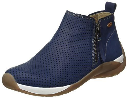camel active Damen Moonlight Stiefeletten, Blau (jeans 01), 38 EU (5 UK)