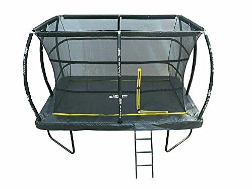 7.5ft x 10ft Telstar ELITE Bounce Arena Trampoline Package Including Cover and Ladder