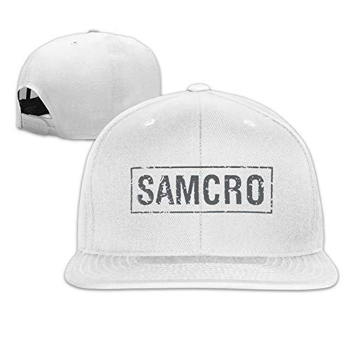 Sons of Anarchy Samcro Banner Unisex Sportmütze Sonnenhut Flache Mütze Hip-Hop Mütze Männer Baseballmütze Cowboy Mütze
