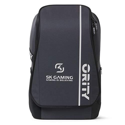 ORITY ONE - SK Gaming Team Edition: Laptop Rucksack 17 Zoll für Esport, Gamer & Business | Gaming Rucksack | Recycelt | Handgepäckgröße | Wasserabweisend | 35 Liter