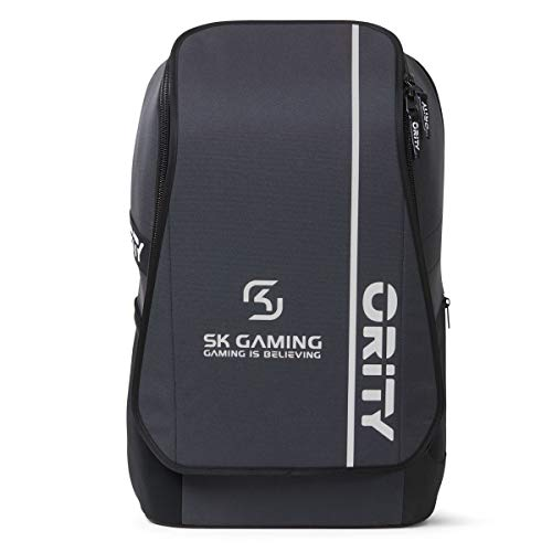 ORITY ONE - SK Gaming Team Edition: Laptop Rucksack 17 Zoll für Esport, Gamer und Business | Gaming Rucksack | Recycelt | Handgepäckgröße | Wasserabweisend | 35 Liter