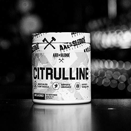 Axe & Sledge L - CITRULLINE 200g (40 Servings)