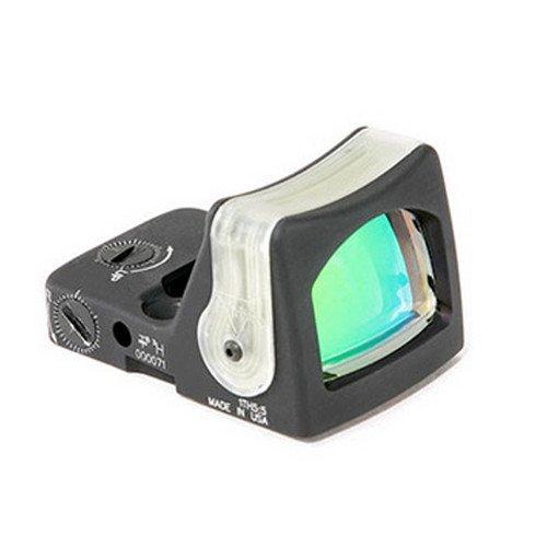 Trijicon RM08G RMR 12.9 MOA Dual-Illuminated Green Triangle Sight,Black with Green Triangle