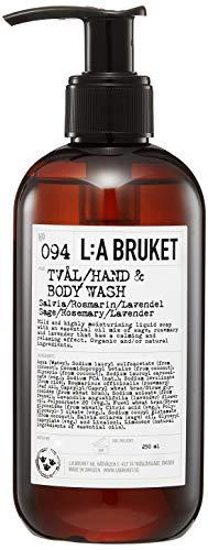 L:a Bruket No.94 Flüssigseife ,Sage / Rosemary / Lavender, 1er Pack (1 x 250 ml)