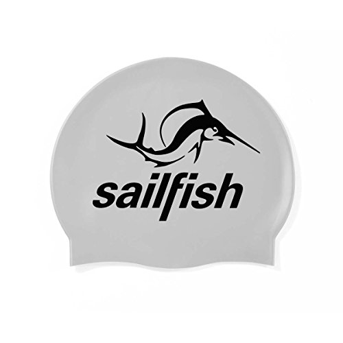 Sailfish Badehaube, Silikon, silberfarben