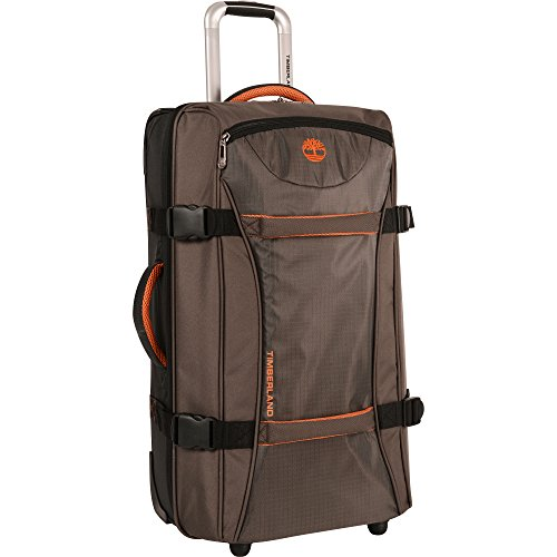 "Timberland 30"" Wheeled Duffle Luggage Bag, Cocoa"