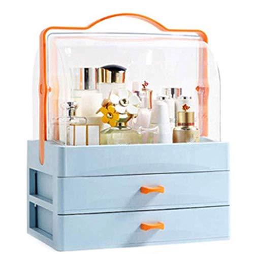 ADSE Aufbewahrungsbox - Aufbewahrungsbox für staubdichte Kosmetik Home Desktop Rack Box