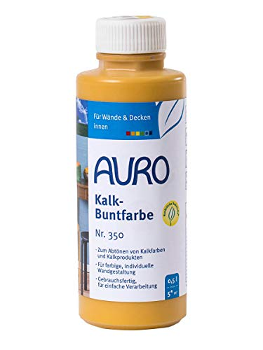 AURO Kalk-Buntfarbe Gelb 0,5 L