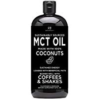 Radha Beauty 32oz Premium MCT Coconut Oil