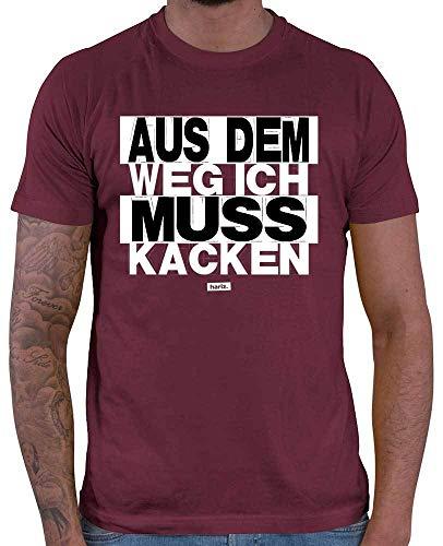 Hariz – Camiseta para hombre, texto en alemán