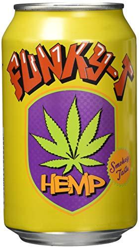 Funky-T Hemp Drink, 12er Pack, EINWEG (12 x 330 ml)