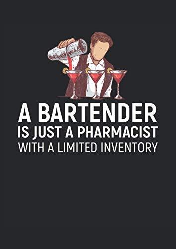 Barista Solo un farmacista con inventario limitato: Quaderno A4 a righe 120 pagine Quaderno College Journal per baristi, baristi, camerieri, baristi