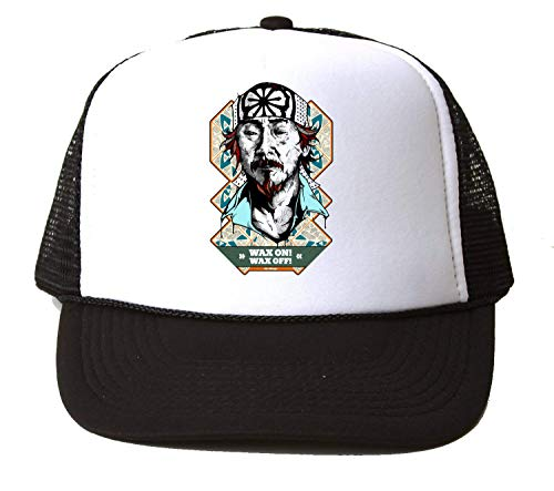 NoMoreFamous Mr Miyagi Karate Kid Wax On Wax Off Baseball Cap Unisex Mütze Kappe Hat One Size
