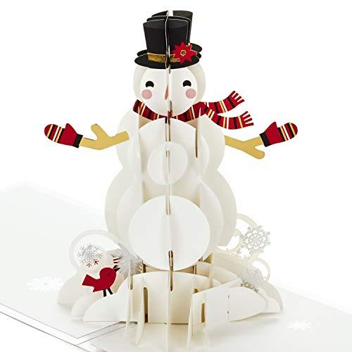 Hallmark Signature Paper Wonder Pop Up Christmas Card (Let it Snow)