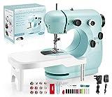 Pasutewel Macchina da cucire per principianti per bambini, macchina da cucire portatile con pedale per il fai da te, materiali elettrici per la casa, per principianti, bambini, ragazze