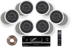 powerful Sony HD Digital 700 W 7.1 Channel A / V Receiver + Yamaha Natural Sound Custom Installation…