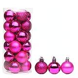UKH Ornamenti di Natale decorazione set albero di Natale decorazione a forma di speciale palle dipinte palla di Natale ciondoli albero di Natale decorazione piccoli ornamenti decorazione partito
