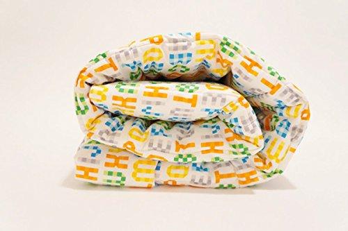 Organic Designs - Organic Toddler Comforter (Alphabet)