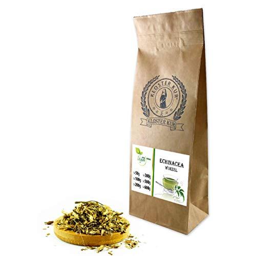 VITAIDEAL VEGAN® Echinacea Wurzel geschnitten (Echinacea purpurea, Sonnenhut, Purpursonnenhutwurzel) 300g., rein natürlich ohne Zusatzstoffe.
