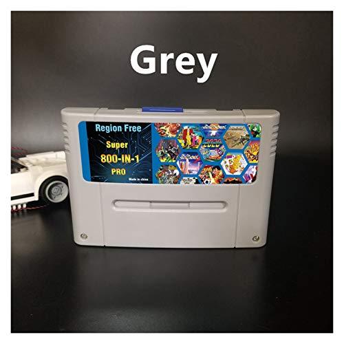 Red plum GAOHEREN DIY 800 EN 1 Tarjeta DE Juego Super Chea Pro Remix Ajuste para LA Consola del Juego DE 16 bit Cartucho de Juego Support Todos los EEUU/EUR/Japón Consolas GHR