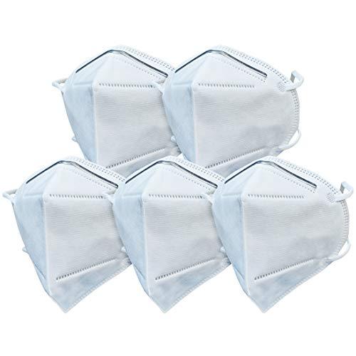 AIORNIY 1/5/10 piezas polvo antipolvo Nebelnebel- Verschmutzungs Blanco 5- teilig