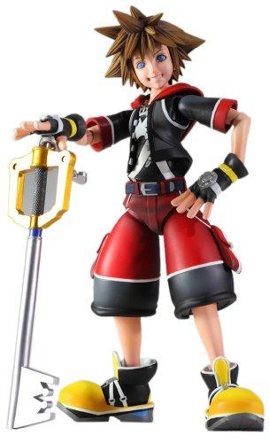 Sora Kingdom Hearts 3D Dream Drop Distance Play Arts Kai 7.5