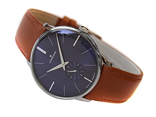 [ユンハンス] JUNGHANS 腕時計 027/3504.00 機械式手巻 メンズ レザーベルト [並行輸入品]