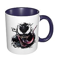 マグカップ コーヒーマグ ティーマグ 陶器 上品 プレゼント Venom かわいい 飲み水 お茶 コーヒー ジュース ビール ワイングラス 大容量 おしゃれ 電子レンジ 食洗機対応
