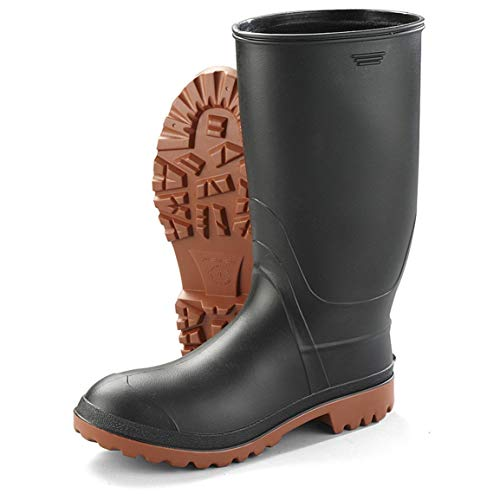 Kamik Men's Ranger Rubber Boots, Black, 10D (Medium)