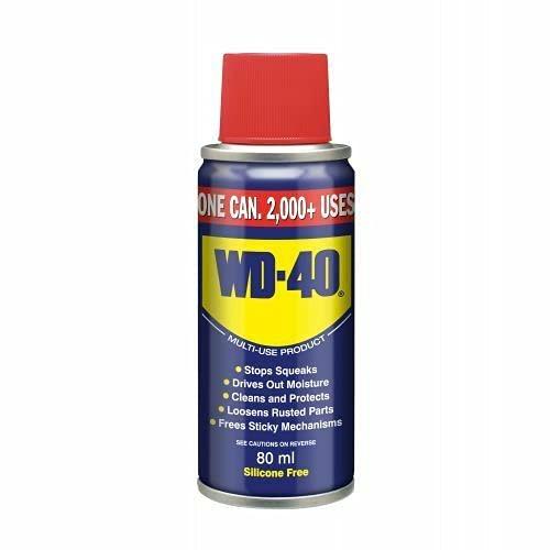 WD-40 80ML Lubricante Spray Smart Straw Más de 2000 USOS Producto Multiuso Silicona Libre
