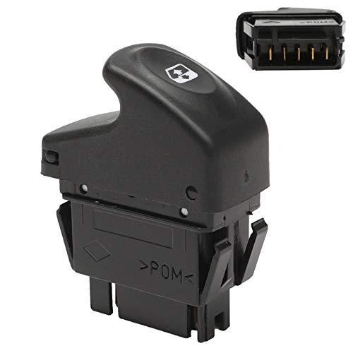HSHUIJP Herramientas y Equipo para automóvil Botón de Interruptor de Espejo de Ventana eléctrica 7700838100 58x20.6x47mm para Renault/Kangoo/Megane/Clio Automotriz
