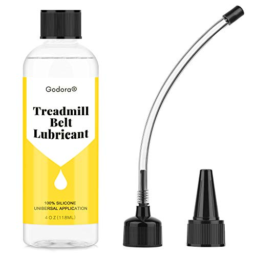 100% Silicone Treadmill Lubricant/Treadmill Lube, 4 Ounces Premium Silicone Oil for Treadmill Belt Lubrication, Easy to Apply Treadmill Belt Lubricant Oil, Suitable for Nearly All Type of Treadmills