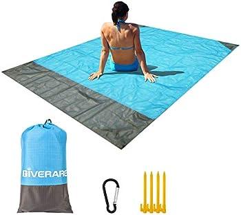 Giverare Waterproof Sandfree Beach Blanket