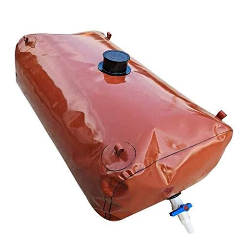 Tanque de agua Agua almacenaje, bolsa de almacenamiento, plegable al aire libre del tanque de agua con el grifo, la luz de gran capacidad de agua bolsa Bolsa de almacenamiento de agua plegable de gran