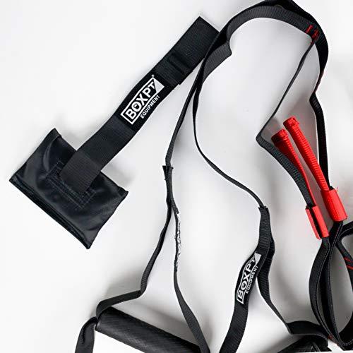 BOXPT Suspension Trainer Pro Negro