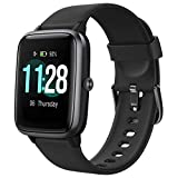 Letsfit Smartwatch, 1.3 Zoll Touchscreen Fitness Armbanduhr, Fitness Tracker mit Pulsuhr, IP68...